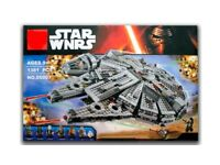 Brand new unbranded building blocks that make up The Millennium Falcon compatible with lego