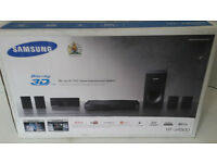 Samsung Blu ray 3D/DVD Home Entertainment System