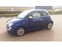 FIAT 500 1.2 ****ONLY £30 ROAD TAX**** 1 OWNER****BRAND NEW CLUTCH**** FANTASIC COLOUR COMBINATION