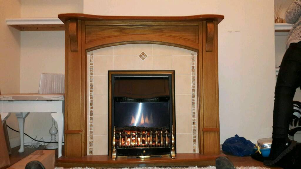 Electric fire in very good condition