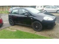Fiat grand punto black alloys and tyres for sale