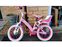 HELLO KITTY GIRLS CHILDS BIKE SUIT 3-5 YEAR OLD