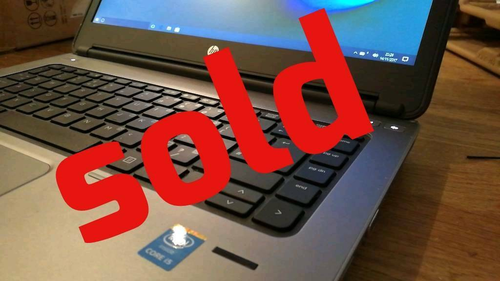 SOLD -- Cheap very fast HP Laptop - i5-4210 8gb 240ssd