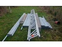 scaffolding (used once) as new £1,750