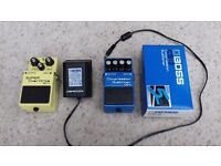 BOSS Compression Sustainer CS-3 + mains adaptor. Excellent condition.