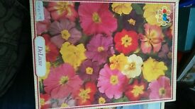 Jigsaw Puzzle - 500 piece. flower design.