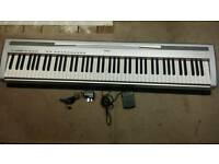 Yamaha Piano Keyboard with Stand - 88 Weighted Keys