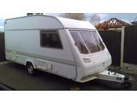 1996 model sterling rapier 4 berth touring caravan