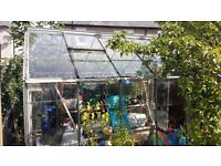 Greenhouse 10ft x 8ft x 8ft (WxDxH)