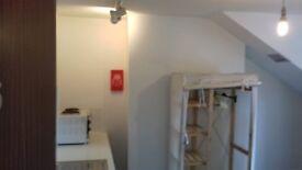 Bedsit Room Exeter Quay pvt kitchen area Bills inc