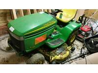 John Deer lx289 ride on mower