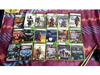 Massive job lot 18 Xbox 360 games