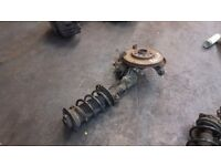VAUXHALL VECTRAL OPEL Shock Strut and Wheel Hub DRIVER FRONT RIGHT OFF SIDE 2006 PAK £60