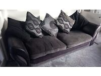 SCS 4 seater sofa and tub chair. Excellent condition.
