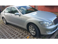 2008 Mercedes S 320 CDI Sport Diesel 126000m Cream Leather Better than 7 Series A8, A6