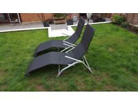 Reclining Deck Chairs