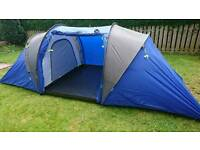 Pro Action 6 man two room tent