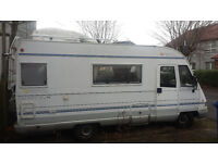 Pilote Galaxy 25S Motorhome Campervan (1998) - 2.5l Peugeot Boxer Chassis