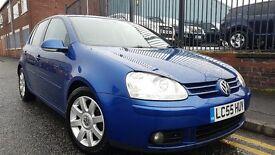 2005 (55reg), Volkswagen Golf 2.0 TDI GT DSG 5dr Automatic Hatchback, £1,895 P/X Welcome