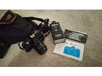 Centon df300 35mm slr camera with accessories