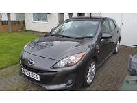 63 plate Mazda 3 Excellent car and cheap for age.