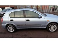 NISSAN ALMERA ALLOYS WITH TYRES (195/55X16) X 4