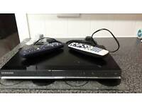 Samsung DVD player. Inc 2x universal remotes and scart lead.