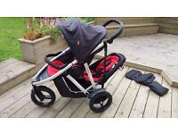 """Phil and Teds Double Buggy """"Vibe"""""""