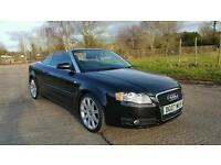 2007 Audi A4 Convertible 2.0 TDI 140 6 Speed F/S/H LONG MOT HPI Clear