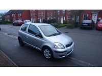 Quick Sale Toyota Yaris T3 VVT-I 2003y, 1.0 petrol. Very Cheap, ideal for first car!
