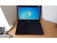 HP Laptop Microsoft Windows 7 320GB Hard Drive 3GB RAM HDMI WEBCAM