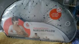 Ergo baby firm support nursing pillow. Hardly used in original packaging