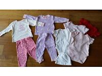 Baby Girl Clothes Bundle Size 3-6 Months - excellent condition