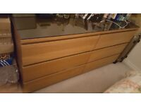 ikea malm chest of draws