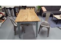 Indoor dining table with wooden surface (Notting Hill)