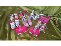 girls shoes and skates sizes 4/5
