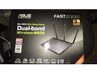 Asus Dual band ADSL Modem Router