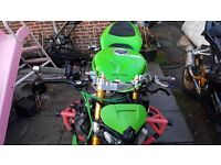 Kawasaki zx636 fully loaded stunt bike 06