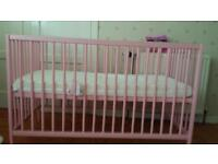 A girl cot bed