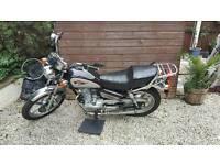 Haotian ht125 motorbike