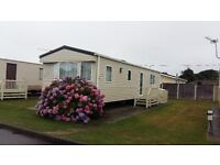 6 BERTH LUXURY CARAVAN - 5* HOBURNE NAISH PARK, NEW MILTON, HAMPSHIRE. NO SMOKING -NO PETS.