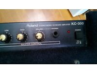 Roland Stereo Mixing Keyboard Amplifier KC-300