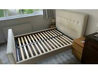 King Size bed frame, sturdy, good condition