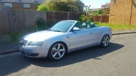 SWAP FOR GTI, 2004 AUDI A4 CABRIOLET 1.8 TURBO, MANUAL FSH