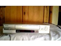 Sanyo VHS Video Cassette Player/Recorder VHR-H794E