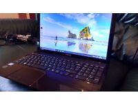 Toshiba Windows 10 Laptop PC Computer i3 processor 1tb hard drive