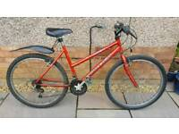 Raleigh Max Mountain Bicycle in Riding Order