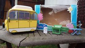 Peppa Pig Camper Van and Houses Set