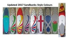 Bargain priced Top Quality 5 star rated inflatable paddle boards 9'6. 10'6 and 12'6 SUP + WindSUP's