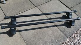 Thule roof bars to fit an Audi A4 saloon 2001 to 2007